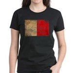 Malta Flag Women's Dark T-Shirt