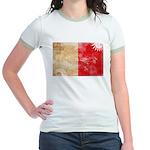 Malta Flag Jr. Ringer T-Shirt