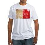 Malta Flag Fitted T-Shirt