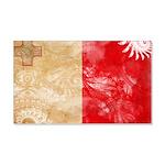 Malta Flag 22x14 Wall Peel
