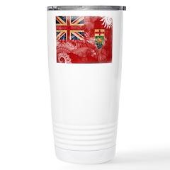 Manitoba Flag Travel Mug