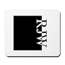 RJW Typography Mousepad