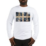 Martinique Flag Long Sleeve T-Shirt
