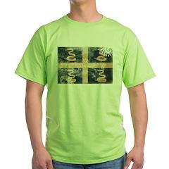 Martinique Flag Green T-Shirt