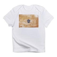 Massachusetts Flag Infant T-Shirt