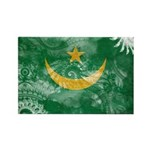 Mauritania Flag Rectangle Magnet