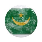 Mauritania Flag Ornament (Round)