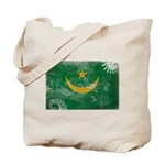 Mauritania Flag Tote Bag