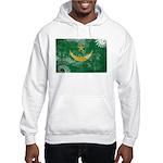 Mauritania Flag Hooded Sweatshirt