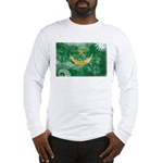 Mauritania Flag Long Sleeve T-Shirt