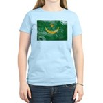Mauritania Flag Women's Light T-Shirt