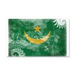 Mauritania Flag Car Magnet 20 x 12