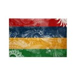 Mauritius Flag Rectangle Magnet