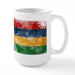 Mauritius Flag Large Mug
