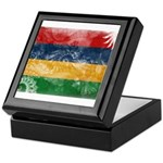 Mauritius Flag Keepsake Box