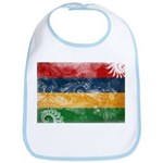 Mauritius Flag Bib