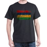 Mauritius Flag Dark T-Shirt
