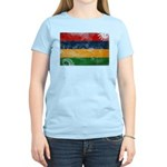 Mauritius Flag Women's Light T-Shirt