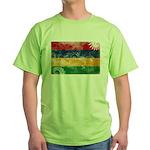 Mauritius Flag Green T-Shirt