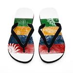 Mauritius Flag Flip Flops