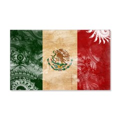 Mexico Flag 22x14 Wall Peel