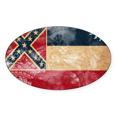 Mississippi Flag Decal
