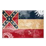 Mississippi Flag Postcards (Package of 8)