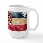 Mississippi Flag Large Mug