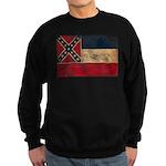 Mississippi Flag Sweatshirt (dark)