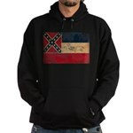 Mississippi Flag Hoodie (dark)