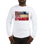 Mississippi Flag Long Sleeve T-Shirt