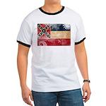 Mississippi Flag Ringer T