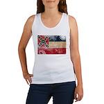 Mississippi Flag Women's Tank Top