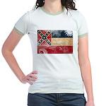 Mississippi Flag Jr. Ringer T-Shirt