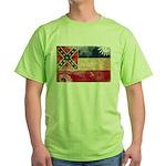 Mississippi Flag Green T-Shirt