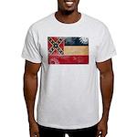 Mississippi Flag Light T-Shirt