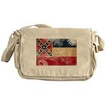 Mississippi Flag Messenger Bag