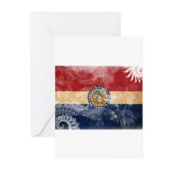 Missouri Flag Greeting Cards (Pk of 10)