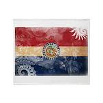 Missouri Flag Throw Blanket