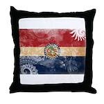 Missouri Flag Throw Pillow