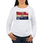 Missouri Flag Women's Long Sleeve T-Shirt
