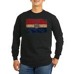 Missouri Flag Long Sleeve Dark T-Shirt