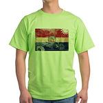 Missouri Flag Green T-Shirt