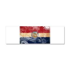 Missouri Flag Car Magnet 10 x 3