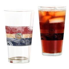 Missouri Flag Drinking Glass