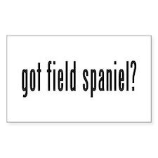 GOT FIELD SPANIEL Decal
