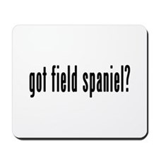 GOT FIELD SPANIEL Mousepad