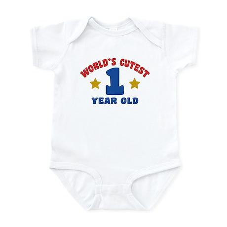 World's Cutest 1 Year Old Infant Bodysuit