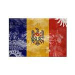 Moldova Flag Rectangle Magnet (10 pack)