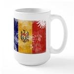 Moldova Flag Large Mug